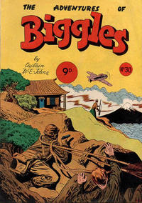 The Adventures de Biggles #01 - #04  W. E. Johns & A. De Vine