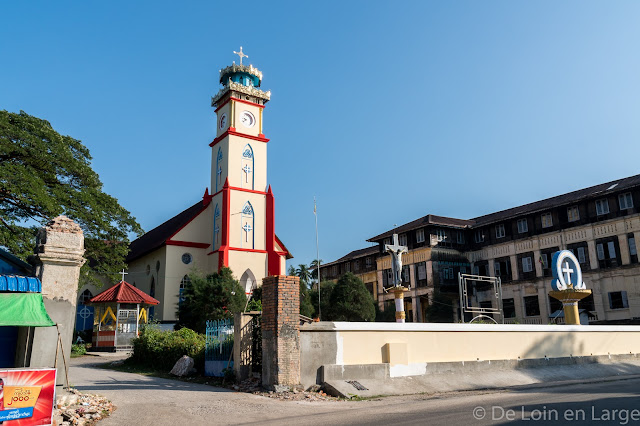 Eglise Saint Patrick - Mawlamyine - Birmanie - Myanmar