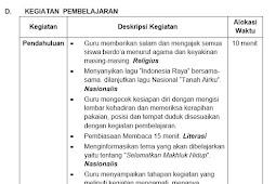RPP Kelas 6 SD Kurikulum 2013 Revisi 2018 Lengkap