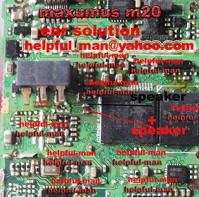 maximus m20 ear spekar soltion