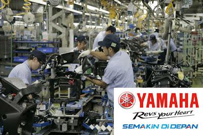 Lowongan Kerja Jobs : Operator Produksi Lulusan Baru Min SMA SMK D3 S1 Semua Jurusan PT. Yamaha Motor Parts Manufacturing Indonesia (PT. YPMI)