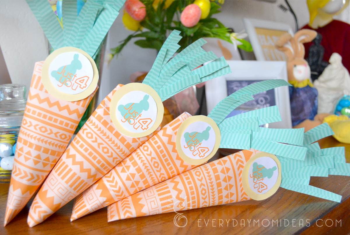 Easter carrot treat box free printable everyday mom ideas these could be great friends and neighbor gifts but i also think they would go great in those easter baskets as well negle Image collections