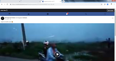 Cara Mudah Download Video Dari Facebook WEB - maspaical.com
