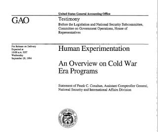 Experimentos con humanos por parte de la CIA