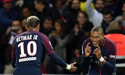 Brazilian superstar Neymar earns £2.7million a month at Paris Saint-Germain