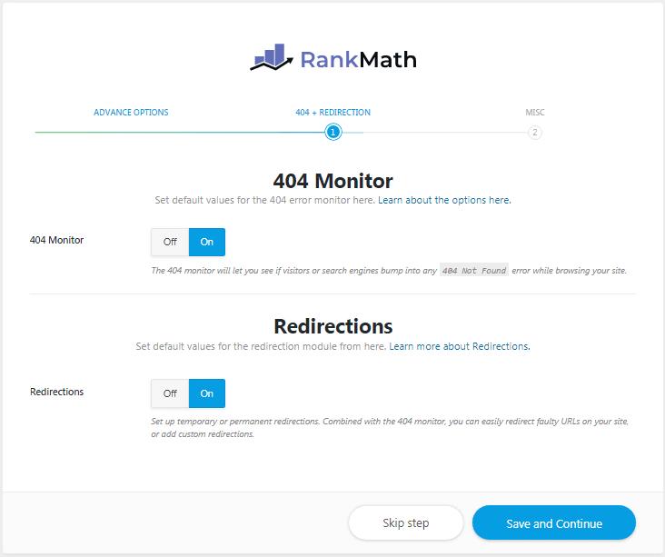 404 monitor - rank math