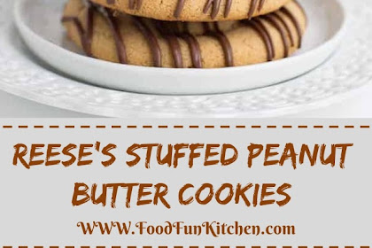 REESE'S STUFFED PEANUT BUTTER COOKIES #christmas #cookies