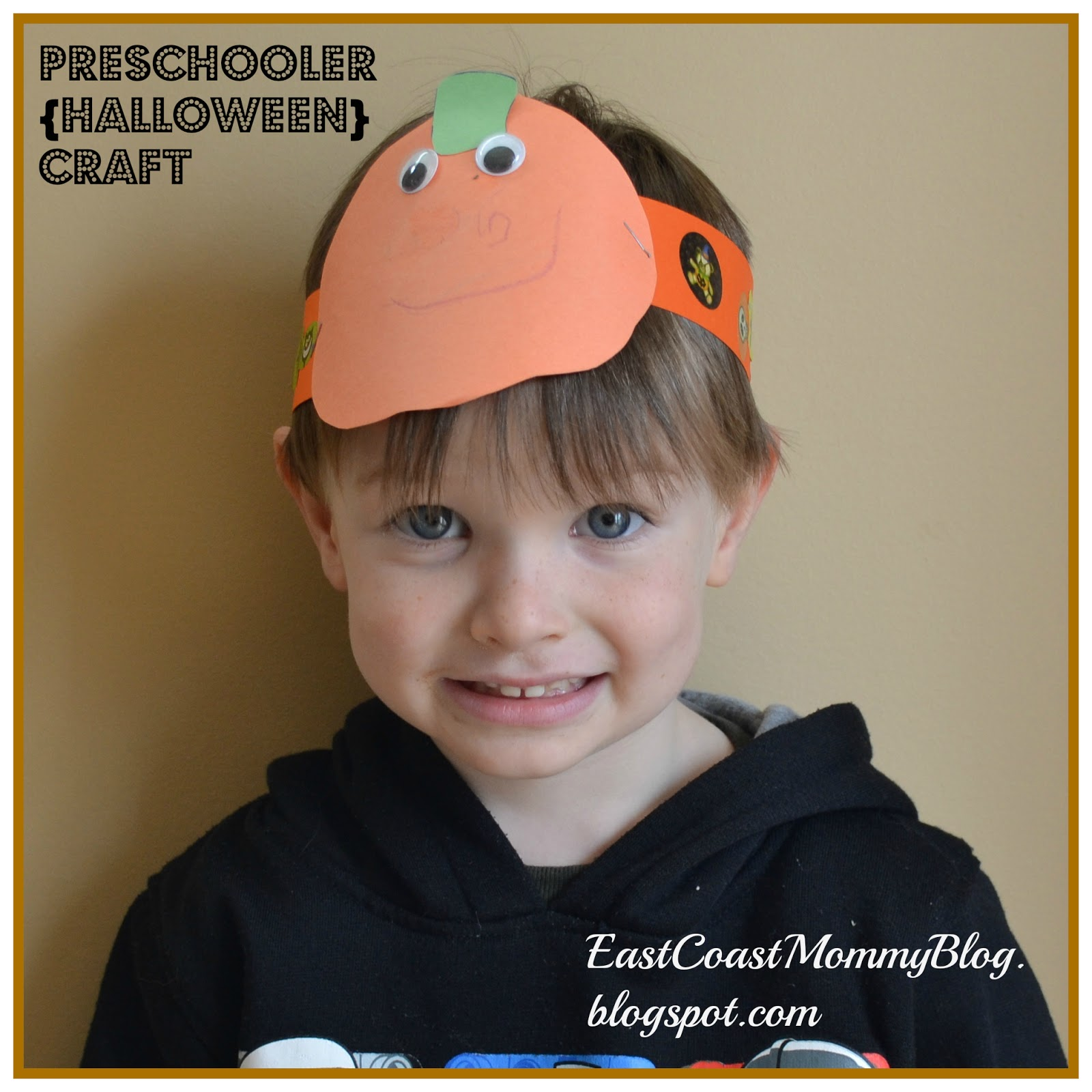 East Orange Stem Academy Homepage: East Coast Mommy: Pumpkin Headband