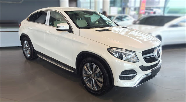 Mercedes GLE 400 4MATIC Coupe 2019 thiết kế thể thao mạnh mẽ