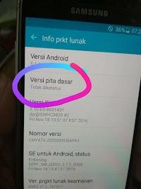 Analisa IMEI dan Baseband Unknown Samsung Android