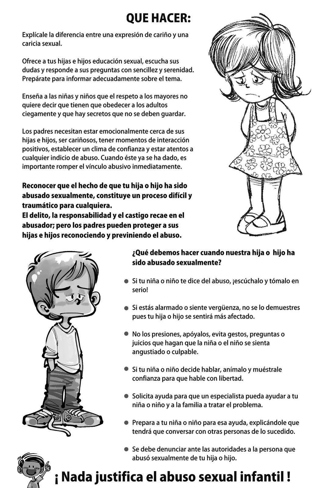 Abuso Sexual Infantil Nunca Más. : 09-may-2012
