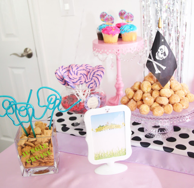 Disney World Birthday Party by popular South Florida party blogger Celebration Stylist