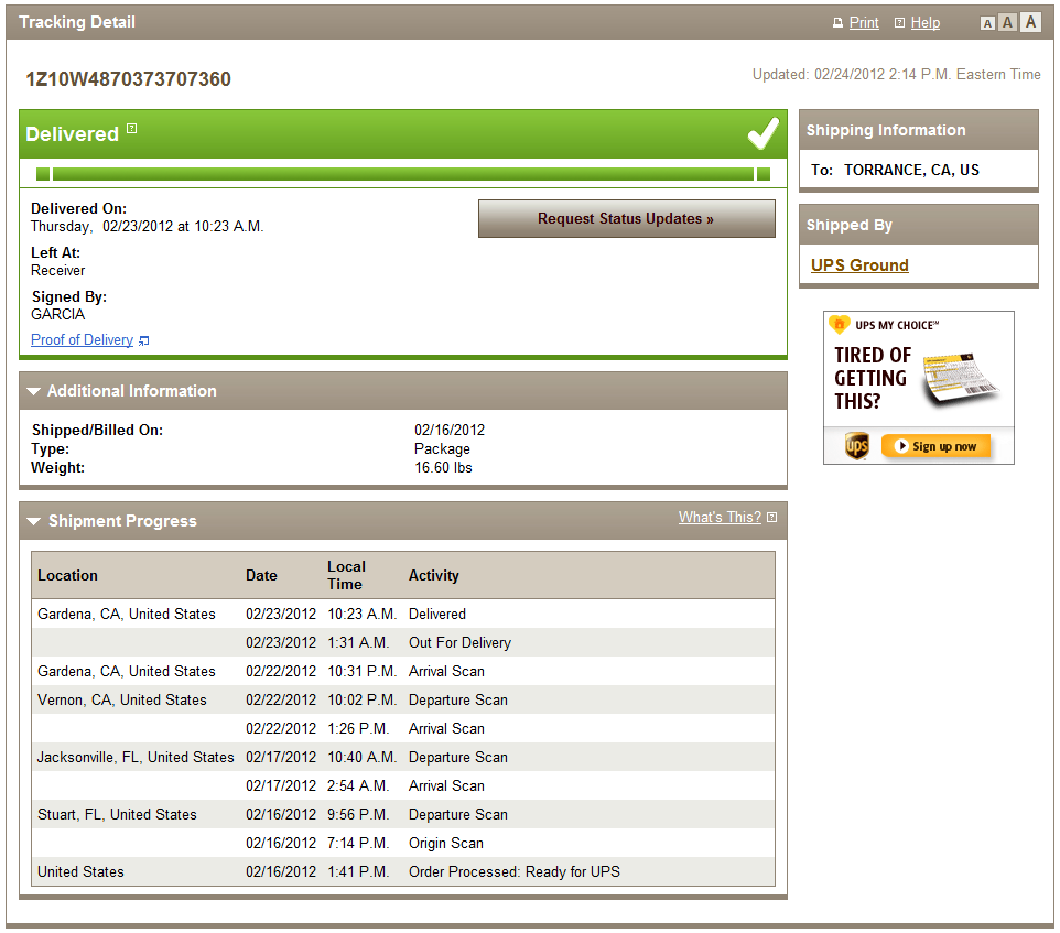 DHL TRACKING NUMBER EXAMPLE - AliExpress Standard Shipping