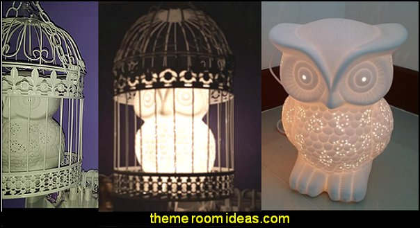 Animal Shaped Table Lamp, Wise Owl