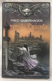 Portada del libro La voz de Drácula, de Fred Saberhagen
