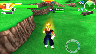 Cara Setting Game PPSSPP Dragon Ball Tenkaichi Tag Team Lancar dan grafik