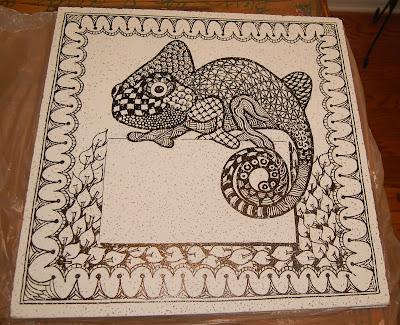 Small Tile Border In Kitchen Backsplash