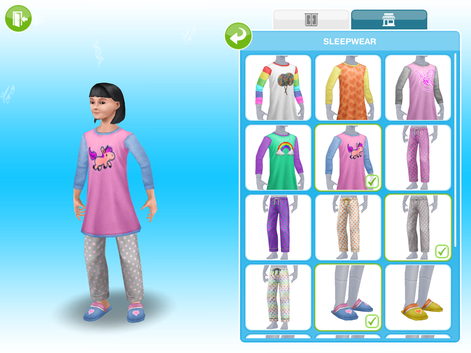 Missy's Sims and Stuff: The Sims Freeplay ~ Sleepwear Event