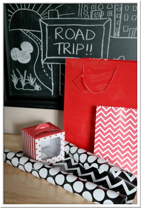 Disney Road Trip Kit Supplies | 3 Garnets & 2 Sapphires