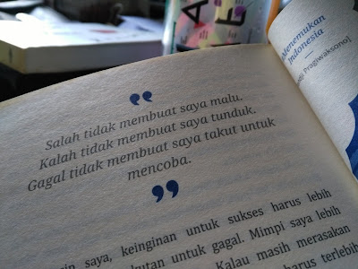 Quote Pandji tentang Kegagalan (dokpri)
