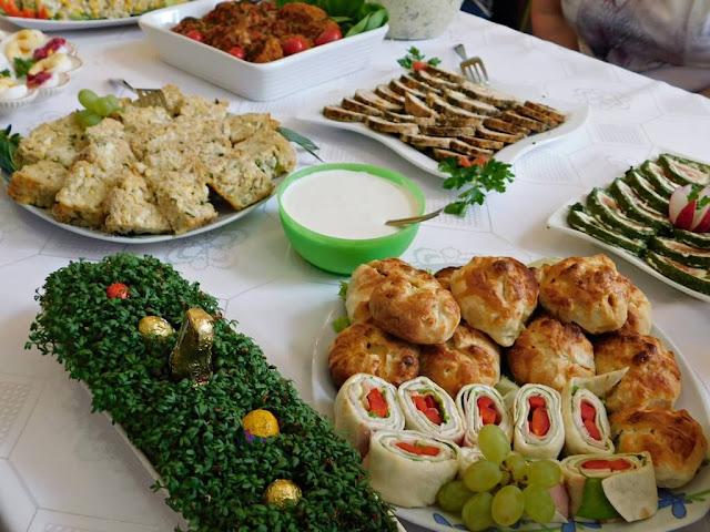 jedzenie wielkanocne, pyszne, wiosenne potrawy