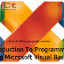 Introduction To  Programming Using Microsoft Visual Basic – Tutorial 01.