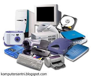 Hardware, Software, Brainware dan Contohnya