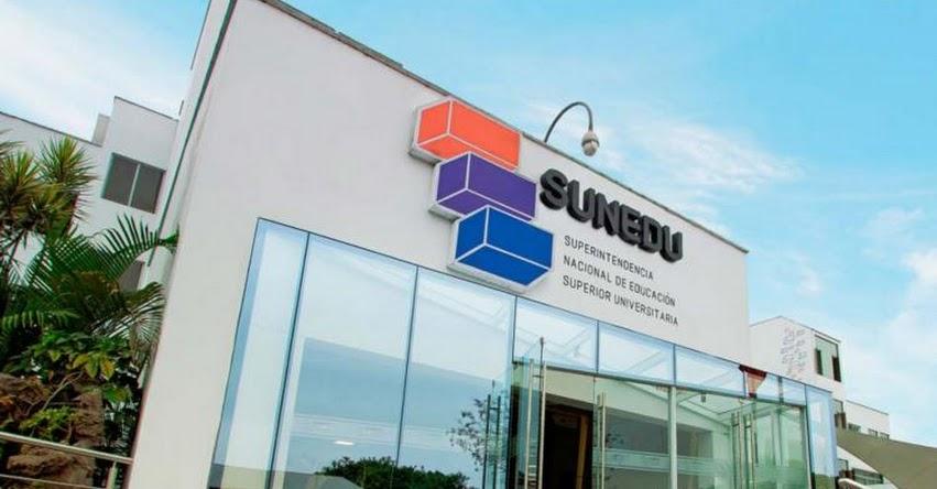 SUNEDU: Las condiciones de calidad se verifican presencialmente