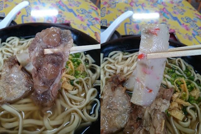 軟骨ソーキとカマボコの写真