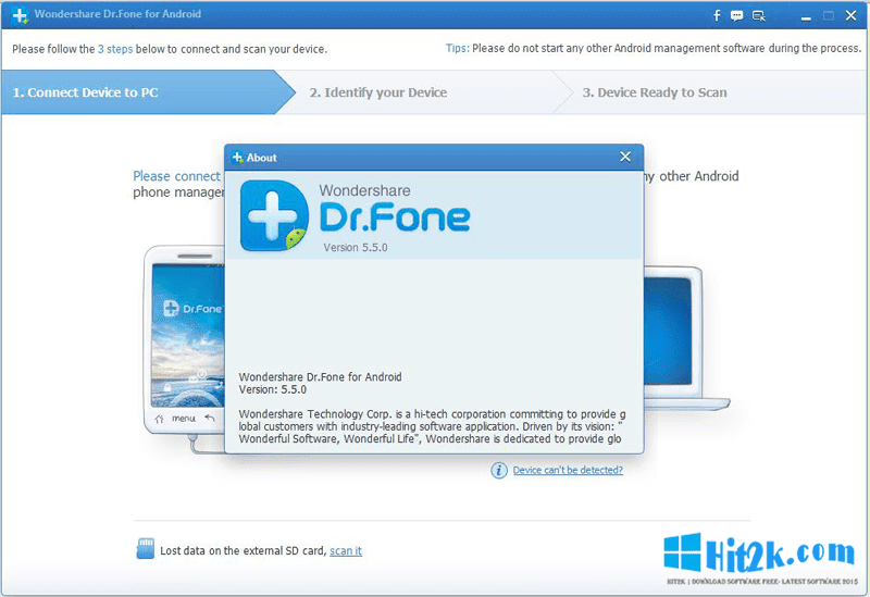 wondershare dr.fone for android 5.5.0 final + serials b4tman