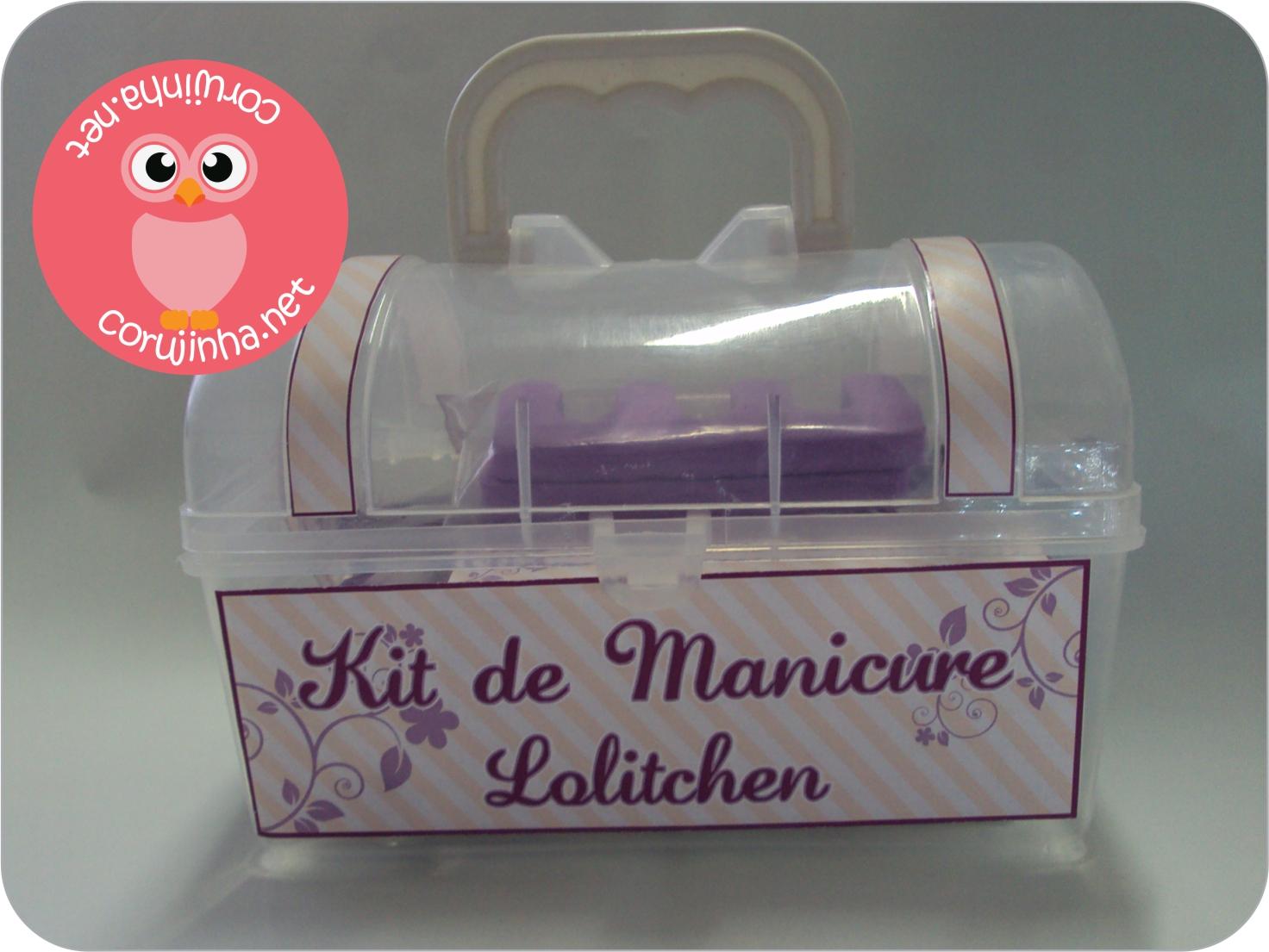 Corujinha Kit Manicure Personalizado Ii