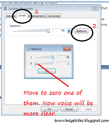 Skype disabled Audio Setting step 3 - Method 2