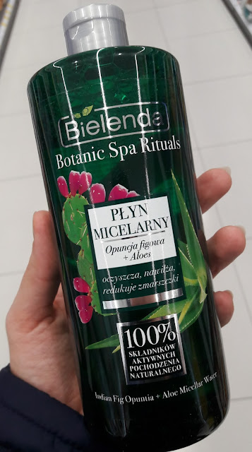 Bielenda botanic spa rituals płyn micelarny opuncja figowa i aloes