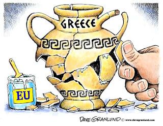 Η κατάρρευση της Ελλάδας