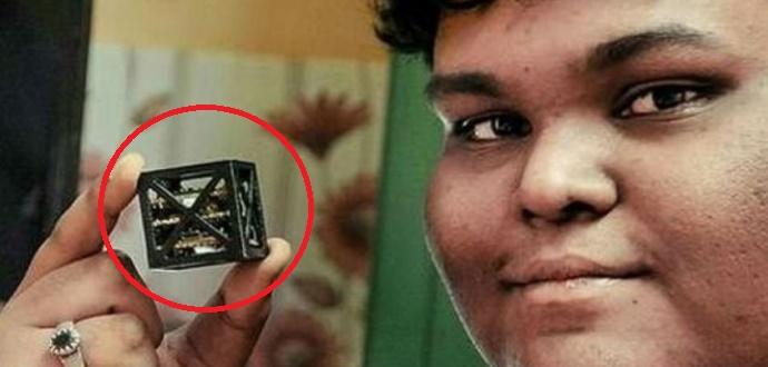 Remaja India ini Mengembangkan Satelit 'TERKECIL' di Dunia