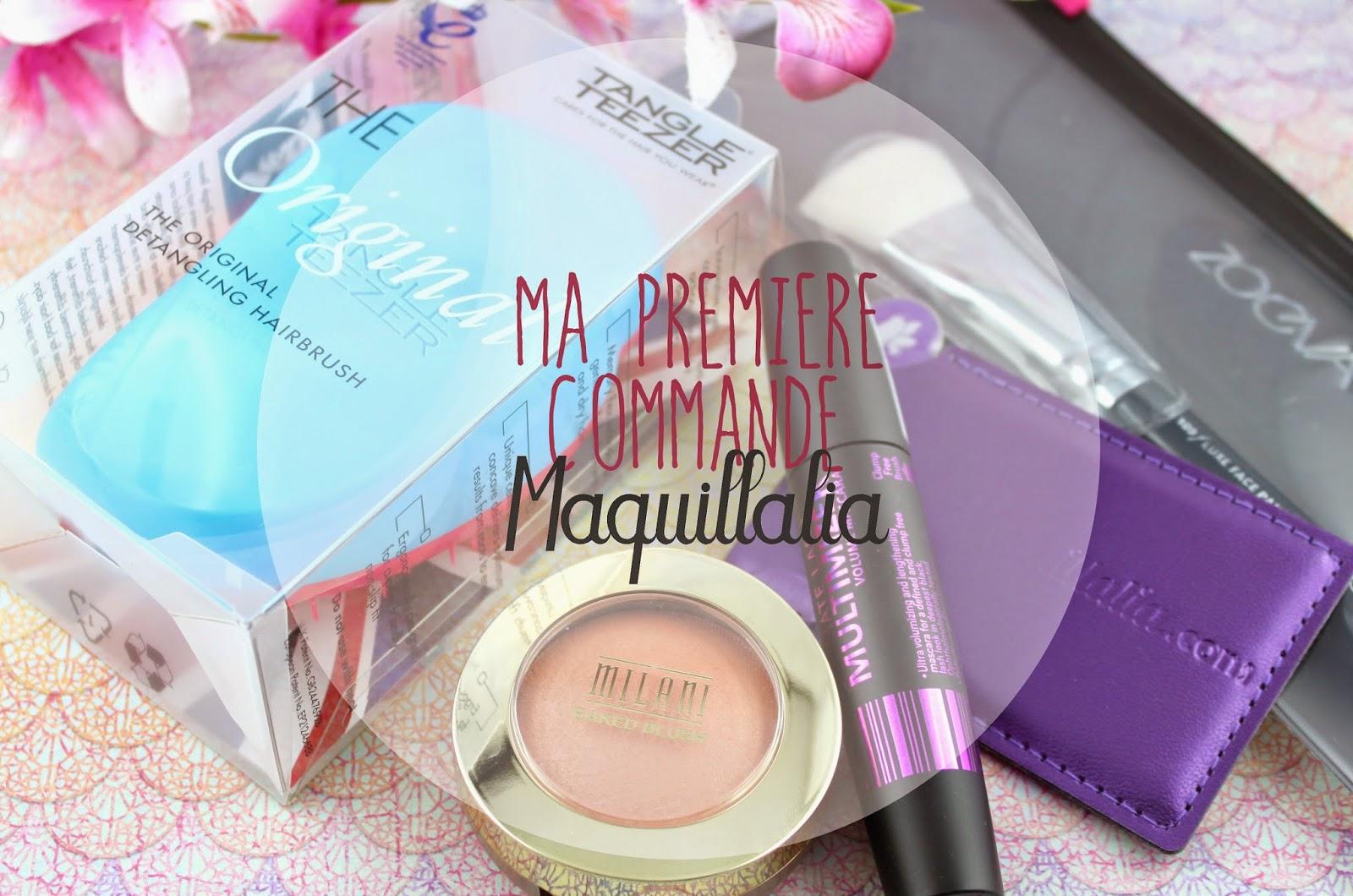 Haul : ma première commande Maquillalia