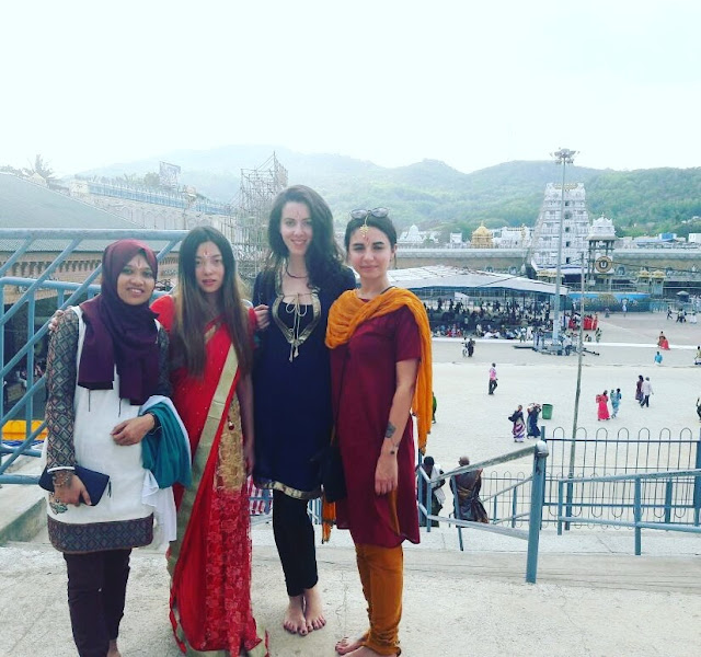 Balaji temple in Tirupati, Andra Pradesh, India