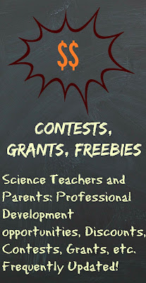 contests freebies discounts grants funding for science