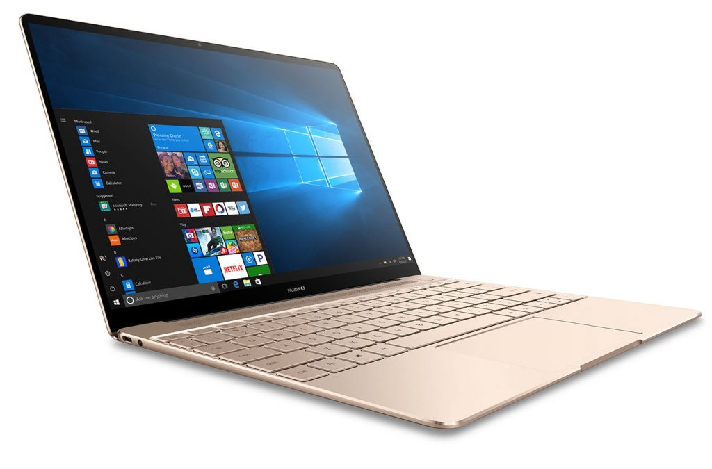Huawei MateBook X Windows 10 Installed