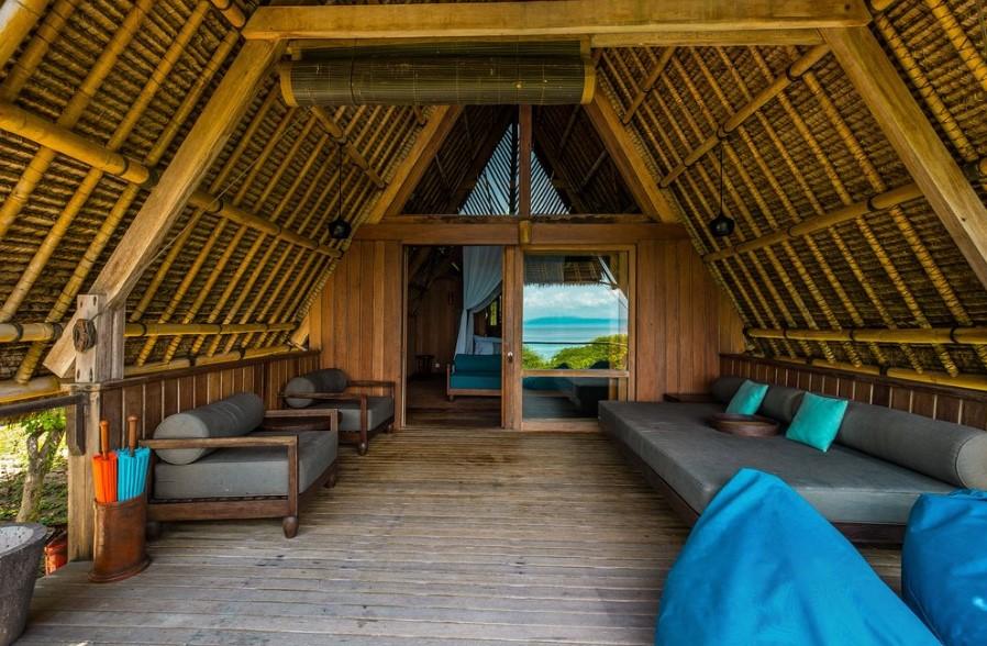 Gambar Hotel Dekat Pantai Pink Lombok Jeeva Bloam Camp Mewah dan Asri