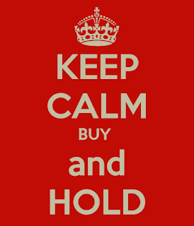 keep calm and buy and hold