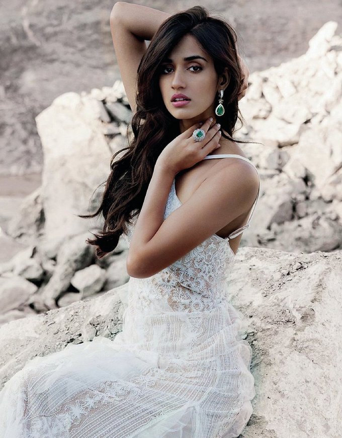 Disha Patani Spicy Photoshoot for Harper's Bazaar India magazine July - August 2017