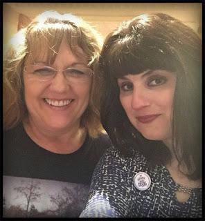 two women smiling in a selfie