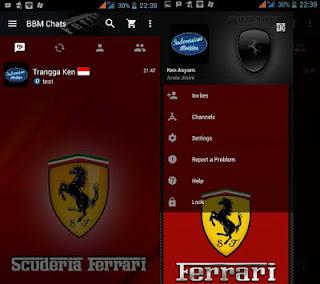 download bbm mod ferrari