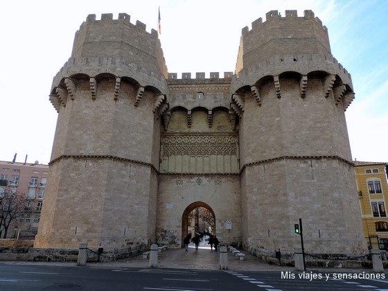 Torre de Serranos, Valencia