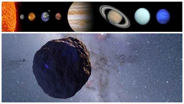 Unexplained discoveries in the solar system 2019   A Mysterious Rock