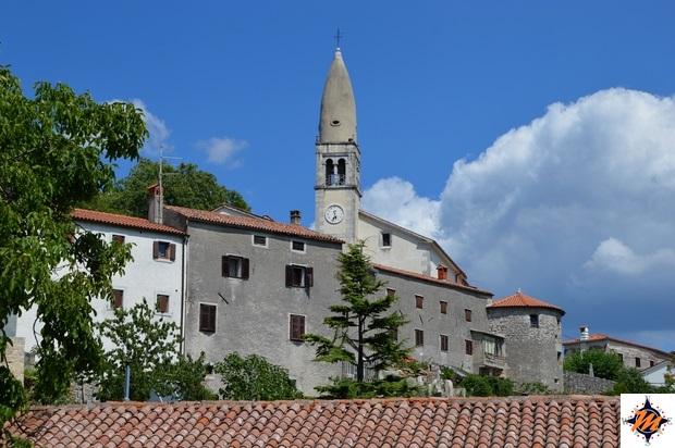 Štanjel, campanile della chiesa di San Daniele