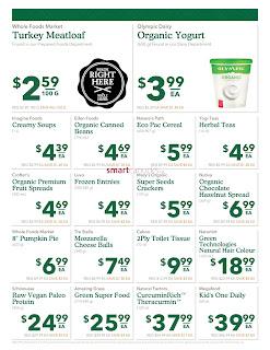 Whole Foods Market Canada Flyer September 13 - 19, 2017