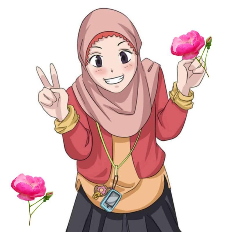 19 Kartun Muslimah Lucu  Anak Cemerlang