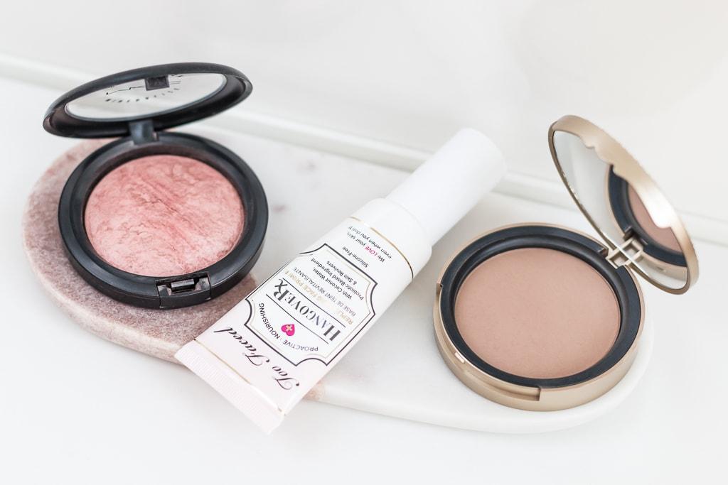Best of beauty 2017 meine Make-up-Jahresfavoriten Blush von MAC, Primer und Bronzer von Too Faced